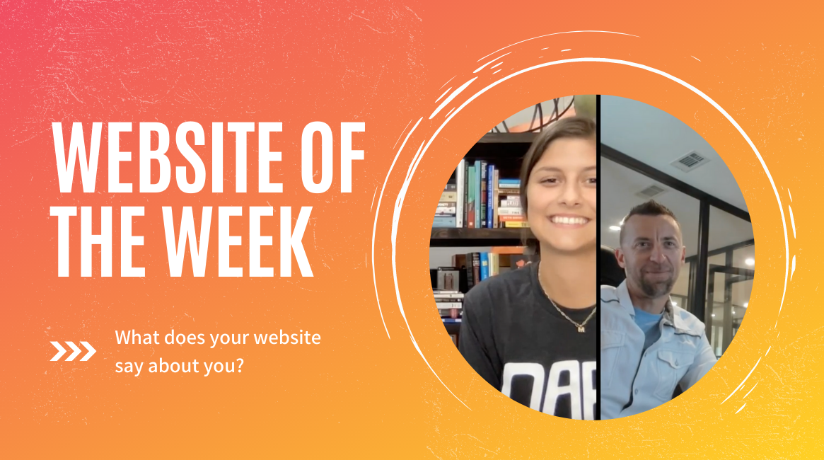 Your website represents YOU!